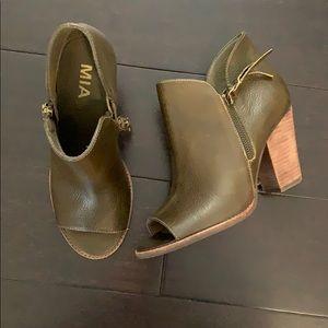 MIA olive booties
